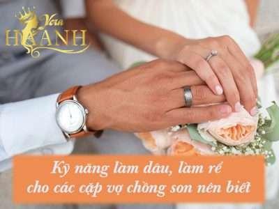 Kỹ năng làm dâu làm rể cho các cặp vợ chồng son nên biết 400x300 - Kỹ năng làm dâu, làm rể cho các cặp vợ chồng son nên biết