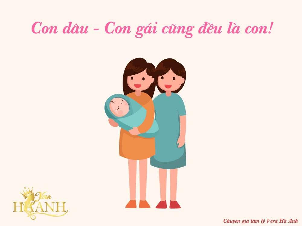 con dâu là con đẻ con gái là con nhà người ta - Sự khác biệt giữa con dâu và con gái đối với mẹ chồng!!!