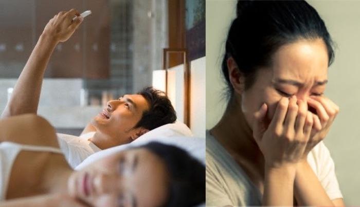 Người phụ nữ sẽ đau đớn bối rối khi phát hiện chồng mình ngoại tình