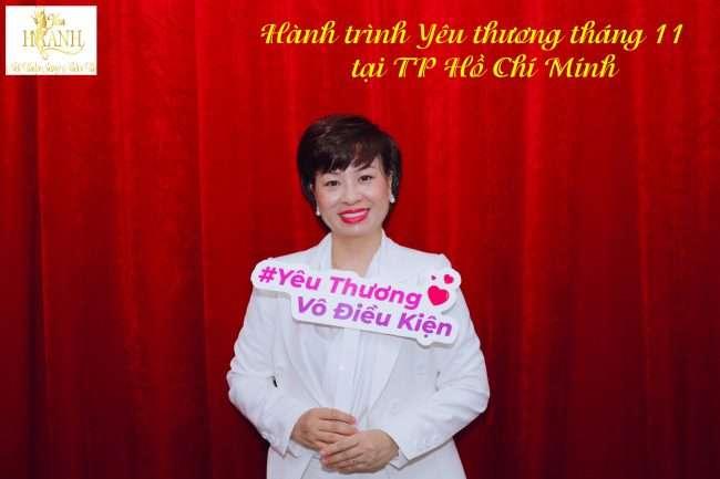 Hành trình yêu thương tháng 11 tại TP Hồ Chí Minh