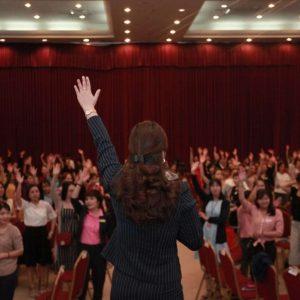 Diep Chi và khán giả